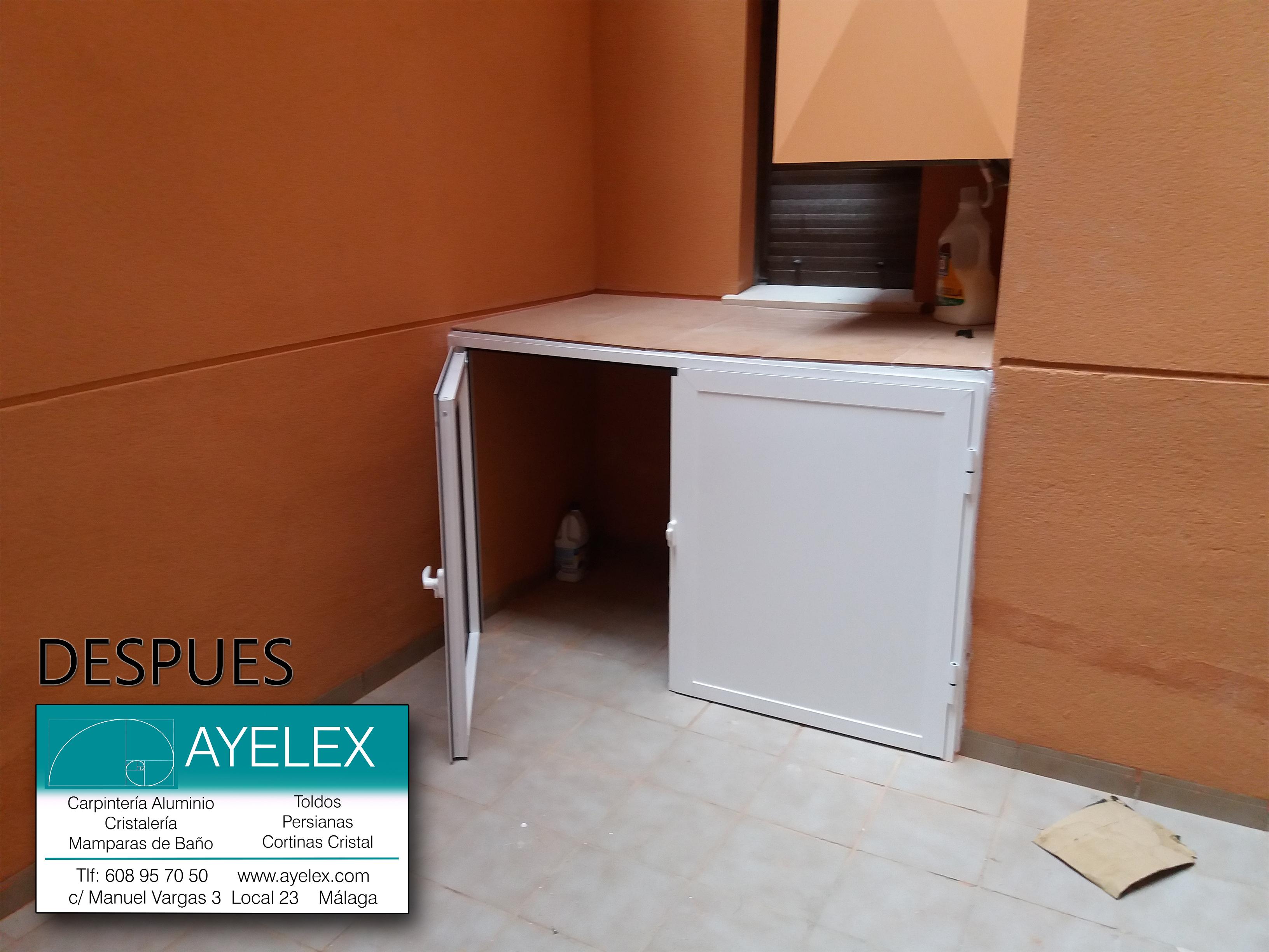 Armarito de lavadero exterior for Lavadero exterior